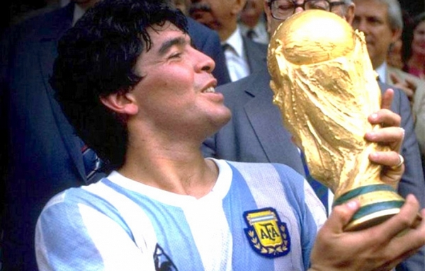 Maradona great soccer player