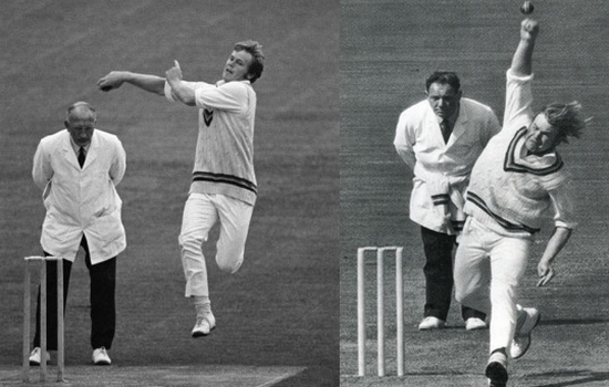 Mike Proctor Weird Action Bowlers in Cricket