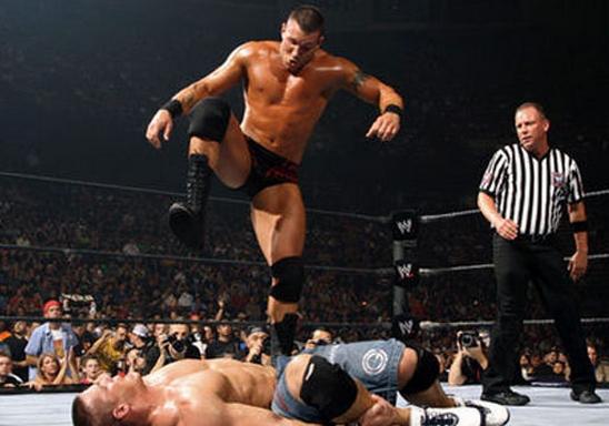 Orton Stomp Lethal Moves of Randy Orton