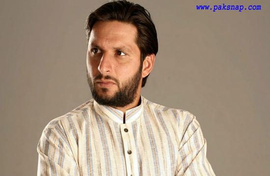 Shahid Khan Afridi stylish