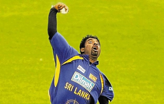 Muttiah Muralitharan Top Weird Action Bowlers in Cricket Top Weird Action Bowlers in Cricket