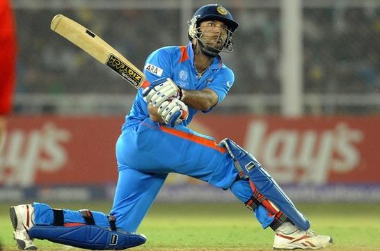Yuvraj Singh Most Dangerous Hard Hitters in T-20 Cricket