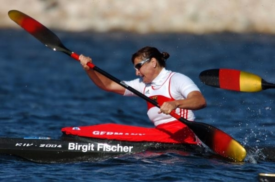 Birgit Fischer Most Medal Winners in Olympics