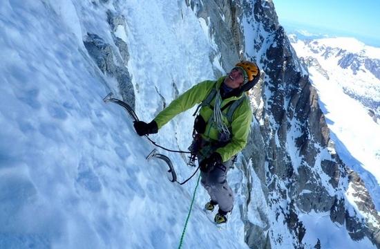 Ice Climbing Extreme Sports