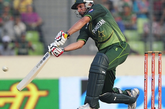 Shahid Afridi Highest Batting Strike Rates