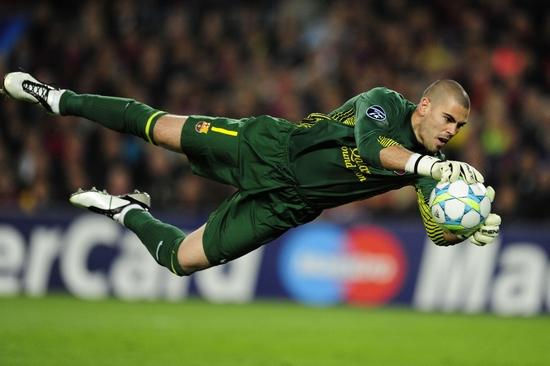 Victor Valdes Best Football Goalkeepers