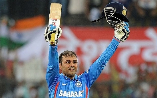 Virender Sehwag Highest Individual Scores