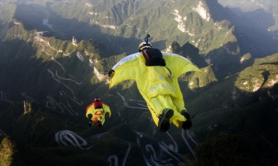 Wingsuit Flying Extreme Sports