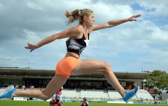 Linda Leverton Hottest Female Athletes