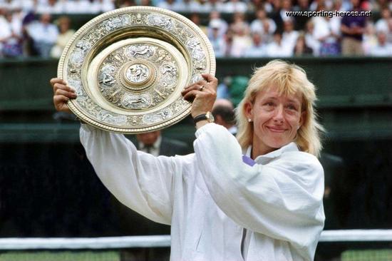 Martina Navratilova Grand Slam Champions