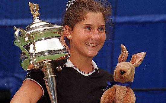 Monica Seles Grand Slam Champions