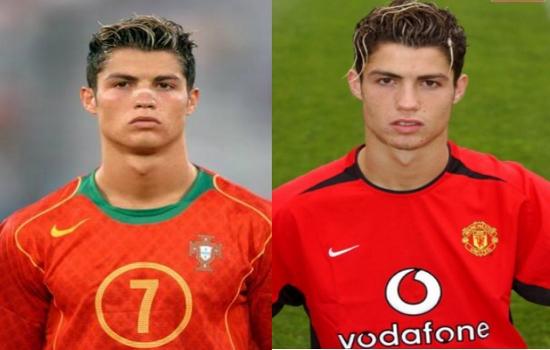Ronaldo 8 Top Cristiano Ronaldo Haircuts