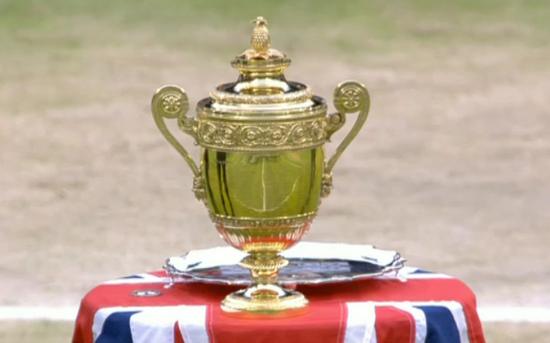 Trophy Wimbledon Gentlemen's Singles Champions