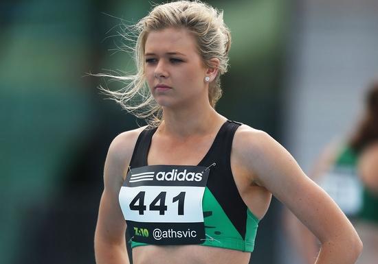 ashleigh whittaker Hottest Female Athletes