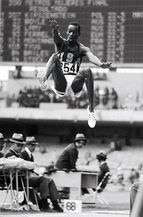 Most Iconic Sports Photos Bob Beamon - Summer Olympics, Oct. 18, 1968