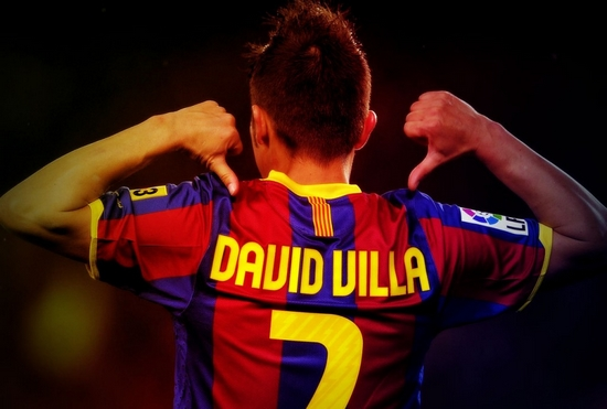 David Villa Highest Goal Scorers in La Liga