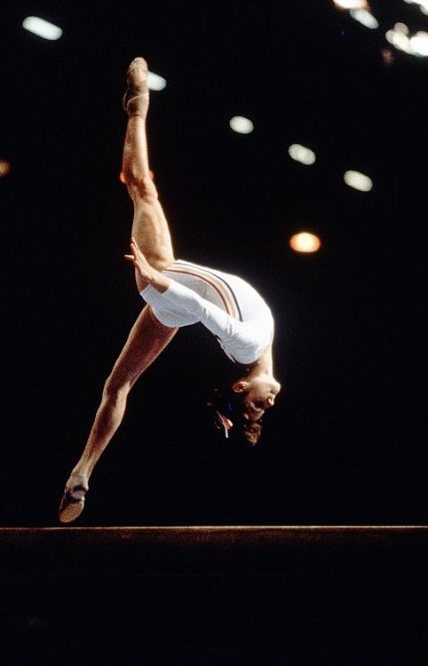 Most Iconic Sports Photos Nadia Comaneci - Montreal Summer Olympics, Aug. 2, 1976