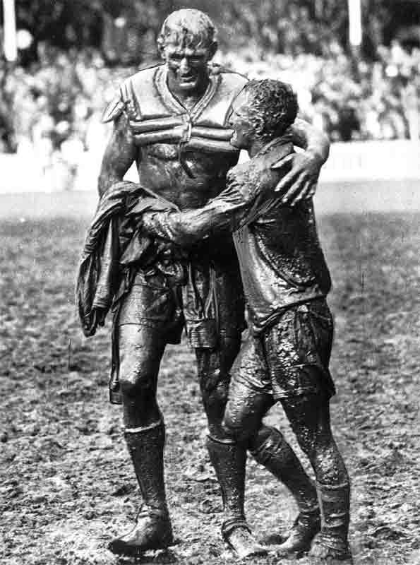 Most Iconic Sports Photos Norm Provan and Arthur Summons - Rugby League Grand Final, August 24, 1963