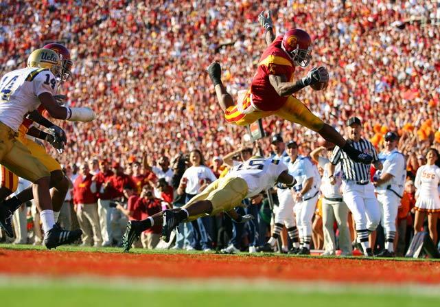 Most Iconic Sports Photos Reggie Bush - USC vs. UCLA, Dec. 3, 2005