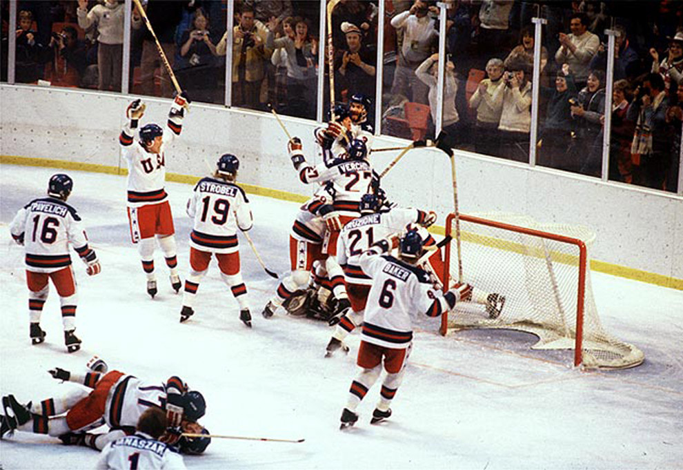 Most Iconic Sports Photos The Miracle on Ice