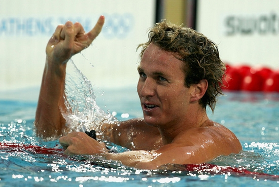 Aaron Peirsol Top 10 Olympic Medalists in Swimming