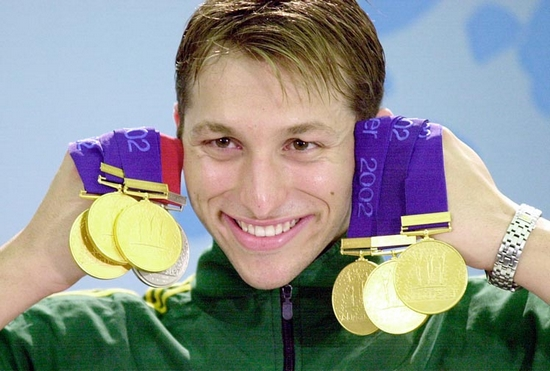 Ian Thorpe Top 10 Olympic Medalists in Swimming