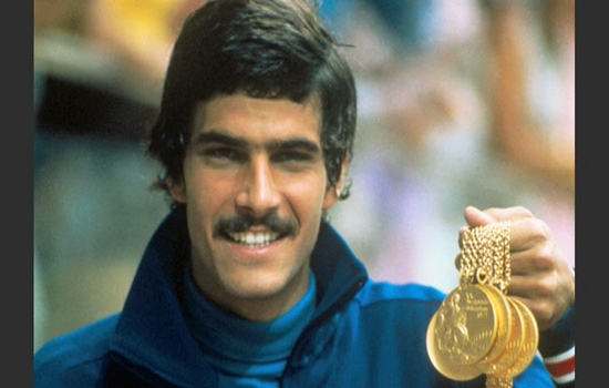 Mark Spitz Top 10 Olympic Medalists in Swimming