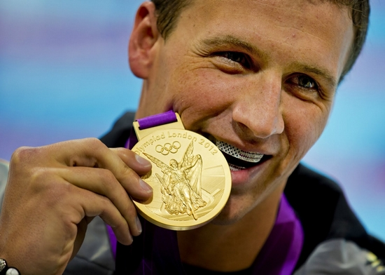 Top 10 Olympic Medalists in Swimming (Men)