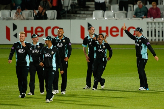 Surrey Longest Winning Streaks in T20