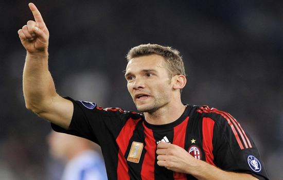 Andriy Shevchenko Highest Goal Scorers in Champions League