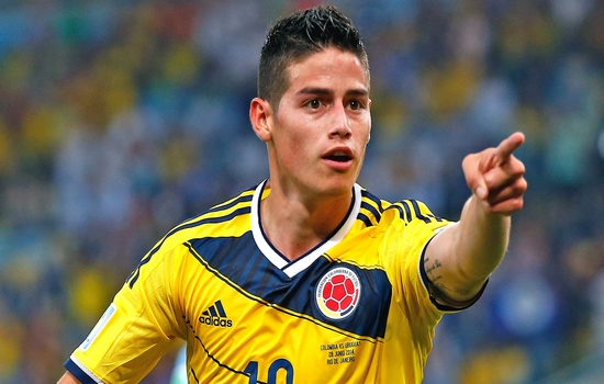 James Rodriguez FIFA Ballon d'Or 2014