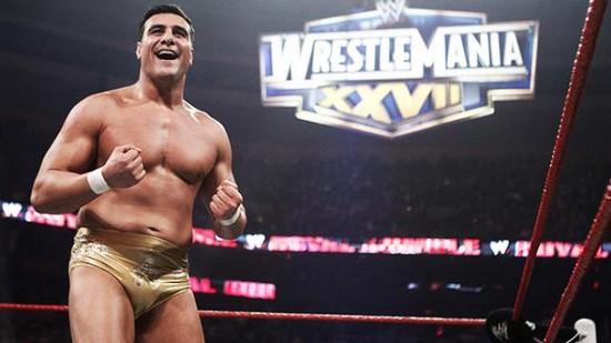 Alberto Del Rio WWE Royal Rumble 2015