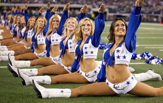 Dallas Cowboys Cheerleaders Best Cheerleading Squads in the NFL