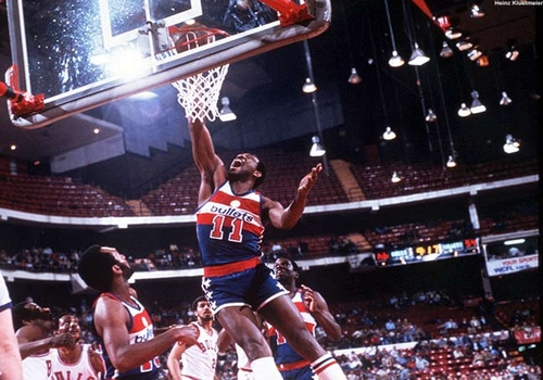 Elvin Hayes Leading NBA Point Scorers