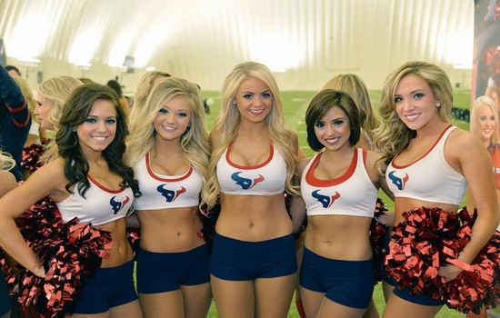 Houston Texans Cheerleaders Best Cheerleading Squads in the NFL