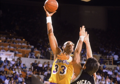 Kareem Abdul-Jabbar Leading NBA Point Scorers