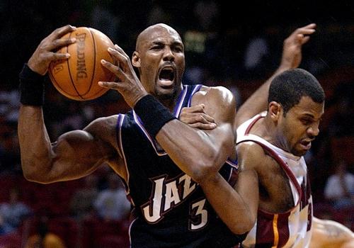 Karl Malone NBA MVP Award
