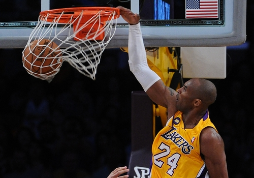 Kobe Bryant Leading NBA Point Scorers