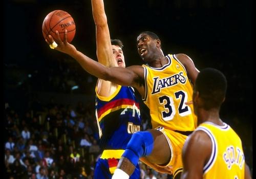 Magic Johnson NBA MVP Award