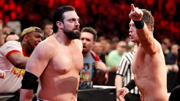 Miz Dow WWE Royal Rumble 2015 Pictures