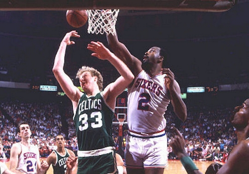 Moses Malone Leading NBA Point Scorers