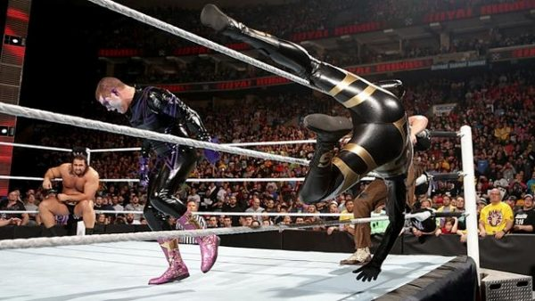 Star Dust WWE Royal Rumble 2015 Pictures