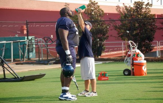 Terrell Brown The Tallest NFL Players