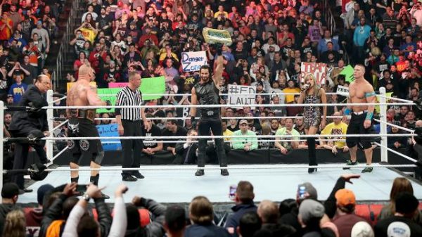 Triple threat WWE Royal Rumble 2015 Pictures