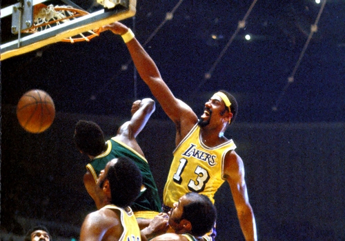 Wilt Chamberlain Leading NBA Point Scorers