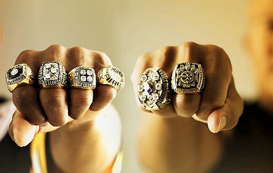 NFL Players/Staff with the Most Super Bowl Rings
