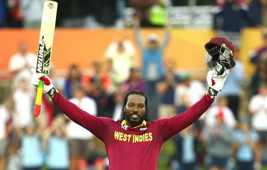 Chris Gayle hit Most Sixes in ICC Cricket World Cup 2015