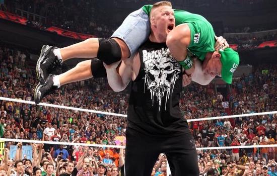 F5 Roman Reigns v Brock Lesnar
