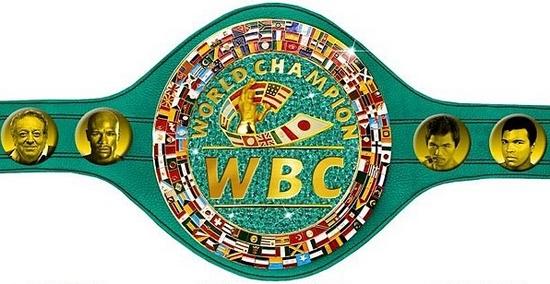 Floyd Mayweather vs Manny Pacquiao belt