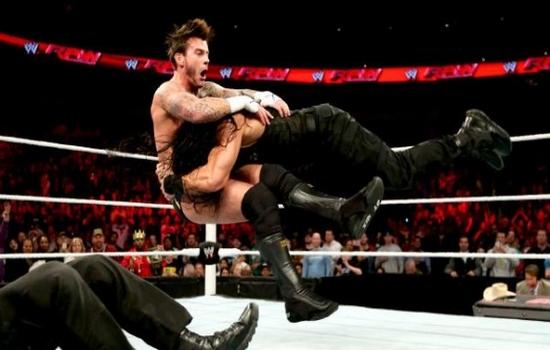 Spear Roman Reigns v Brock Lesnar